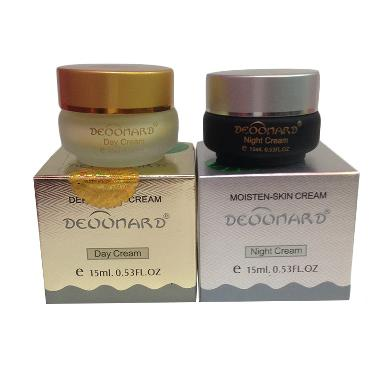 Deonard Cream Siang Malam - Gold Silver perawatan jerawat