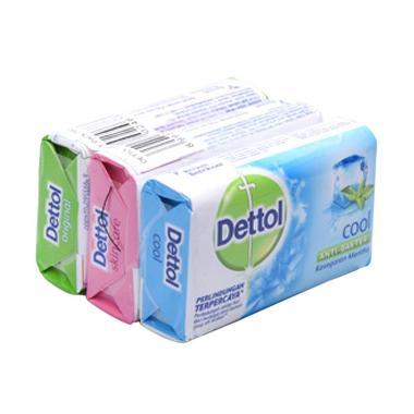 Dettol Family Pack Sabun Mandi [65 g/ 3 pcs]