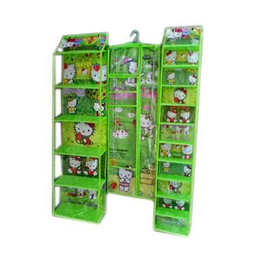 Dhewi's Hanging Shop Rak Sepatu, Ra ... ak Jilbab Gantung - Green