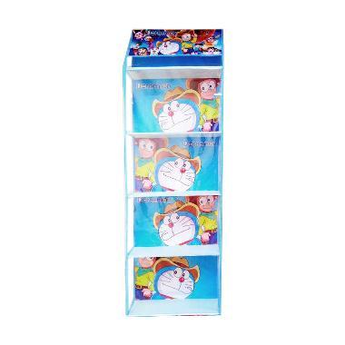 Dhewi's Hanging Shop Zipper Doraemon Rak Tas Gantung