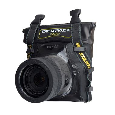Dicapac WP-S5 Waterproof Case for Kamera DSLR