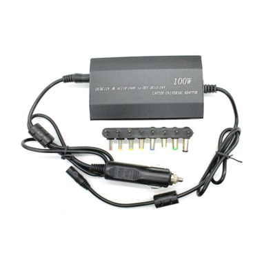 M-Tech Hitam Adaptor Notebook AC DC [Universal/100 Watt]