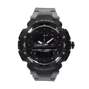 D-Ziner DZ8076GRY Jam Tangan Pria - Grey