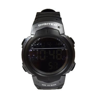 Digitec DG3035TGRY Jam Tangan Pria - Hitam Black