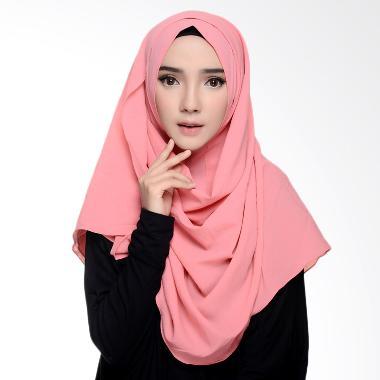 Diindri Hijab Instan Milla Pashmina - Pink