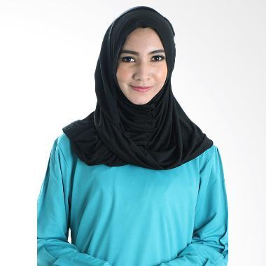 Diindri Hijab Riry Hijab Instan - Black