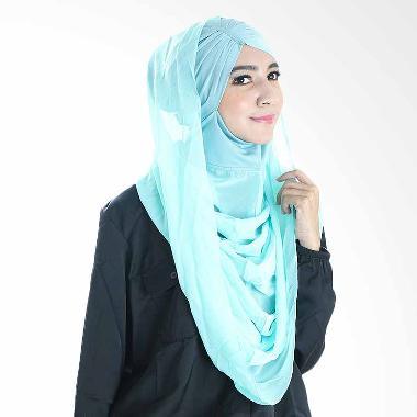 Diindri Hijab Royal Anisa Hoodie Hijab Instan - Mint