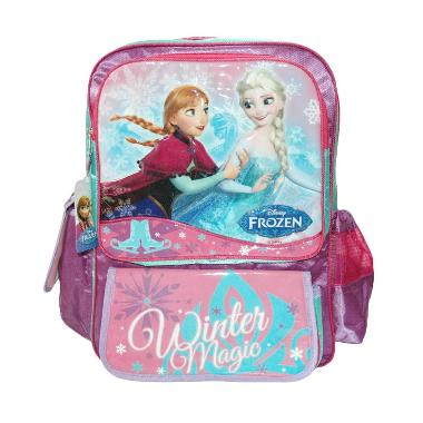 Big Frozen Backpack Anak Perempuan - Pink Green