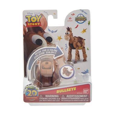 Disney Hatch Egg Toys Story Bulllseye Mainan Anak