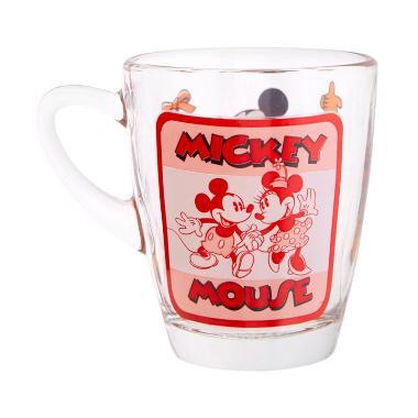 Disney Mickey Mouse Glass Mug Gelas Anak 320 mL .