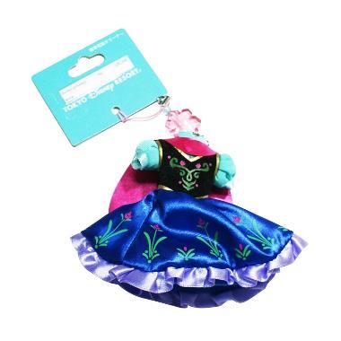 Disney Store Original Gown Frozen Anna Gantungan Kunci