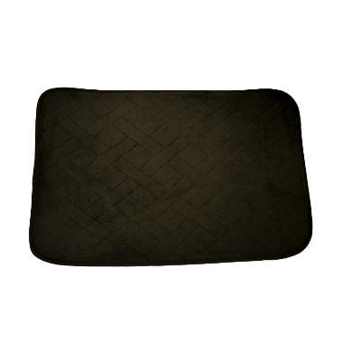 Dixon Motif Campur Brown Mat Keset Busa - Coklat [40x60 cm]