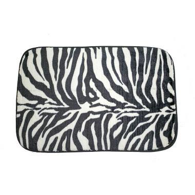 Dixon Motif Campur Zebra Keset Busa - Multi Colour [40x60 cm]