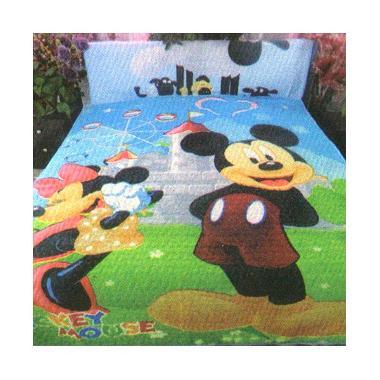 Dixon Katun Character Mickey Multi Colour Selimut Anak [150 x 200]