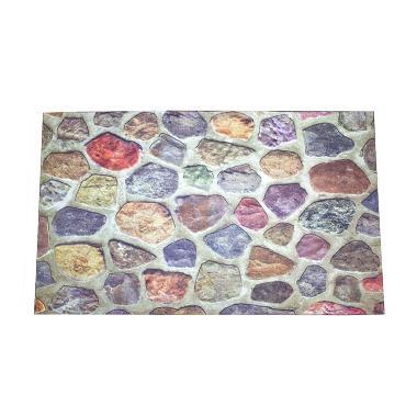 Dixon Welcome Batu Welcome Keset Busa Multicolor [45 x 75 cm]