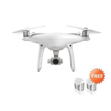 DJI Phantom 4 Drone Camera + Free 2 Pcs Extra Battery