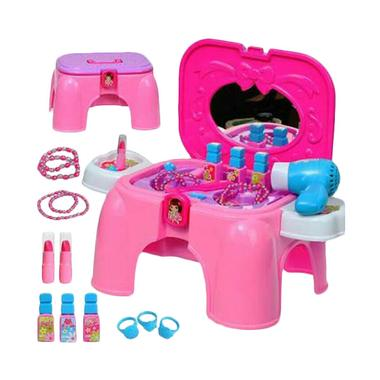 DND Beauty Play Set Salon Hair Dryer Chair Mainan Edukatif