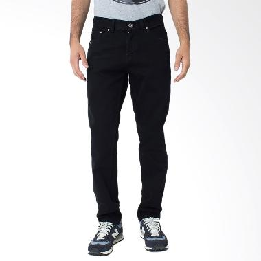 People's Denim DOOMSDAY SF 141028636 Black Celana Panjang Pria