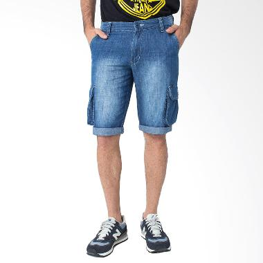 People's Denim VECTOR RU CARGO SHORT Celana Pria