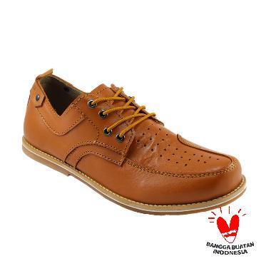 Dondhicero Batik Sepatu Formal Pria - Tan