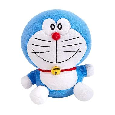 Doraemon Sit and Smile Boneka [10 Inch]