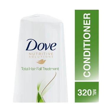 REVIEW Dove  Conditioner Total Hairfall Treatment 320ml Terbagus