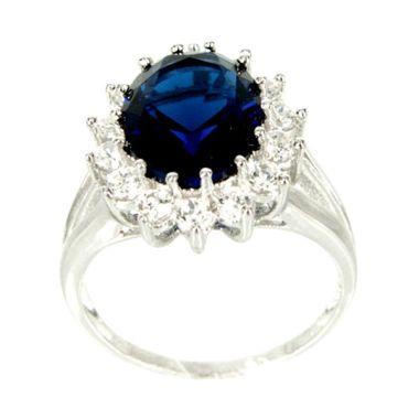 Dparis Blue Saphire Ring            ...