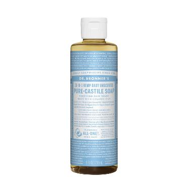 Dr. Bronner's Magic Pure Baby Mild  ... uid Castile Soap [237 mL]