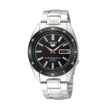 SEIKO 5 Automatic SNKF51 Silver Hit ...