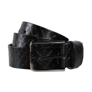 Eagle Leather Casual Belt E 155-H Black Ikat Pinggang
