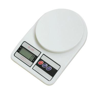 Digimart Timbangan Dapur Digital - Putih [10 kg]
