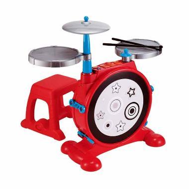 ELC Super Sounds Electronic Drum Kit Multicolor 134443 Mainan Anak