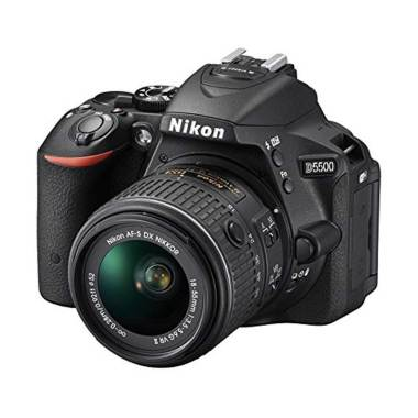Nikon D5500 Kit VR II 18-55 Black Kamera DSLR