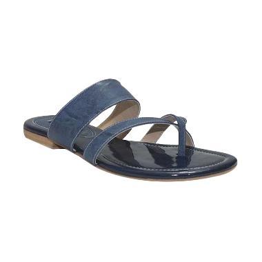 Eltaft Flat ST157 Blue Sandals Wanita