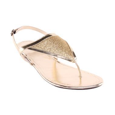 ELTAFT Flat ST179 Sandals Wanita - Gold