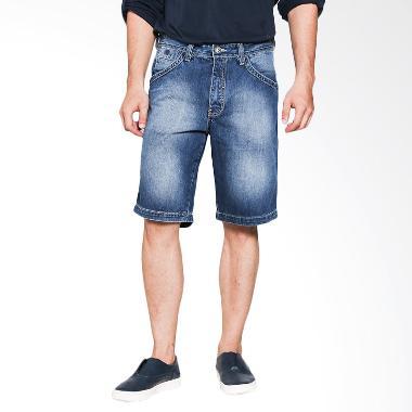 Emba Jeans BJS 289 633 10507 20 Heavy Stone Celana Pendek Pria