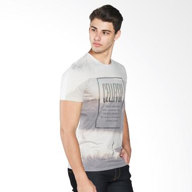 EMBA JEANS Shirts Gera Kemeja Pria - White