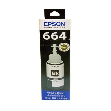 Epson T6641 Tinta Printer - Hitam