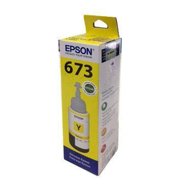Epson T6734 Tinta Botol - Yellow