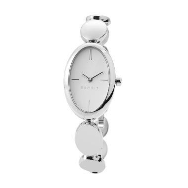 Esprit ES108592001 Silver Jam Tangan Wanita