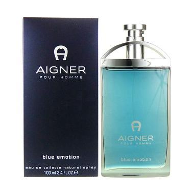 Aigner Blue Emotion EDT Parfum Pria 100 mL (TESTER)