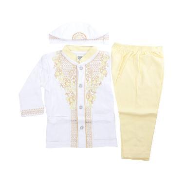 Eunique Setelan Baju Koko Anak - Kuning