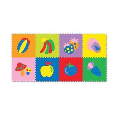 Evamat Gambar Buah Karpet Puzzle