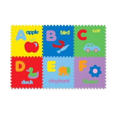 Evamat Puzzle Gambar Abjad Karpet [26 pcs]