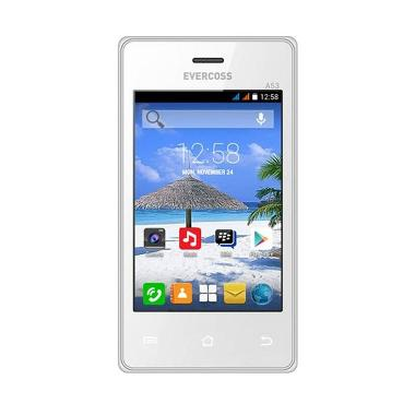Evercoss A53 Smartphone - White [512 MB]