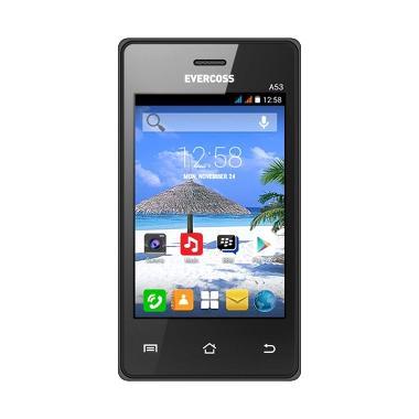 Evercoss A53 Jump Black Smartphone [512MB]