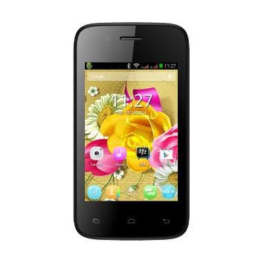 Evercoss A53B Smartphone - Hitam Merah