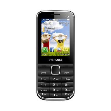 Evercoss C9 Handphone - Hitam