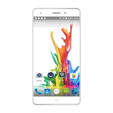 Evercoss Elevate Y2 Power S55 Smartphone - Putih [16 GB/RAM 2 GB]