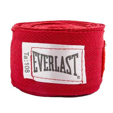 Everlast 108 Hand Wraps - Merah